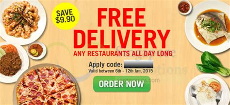 room service singapore food delivery room service food delivery free delivery coupon code 6 12 jan 2015