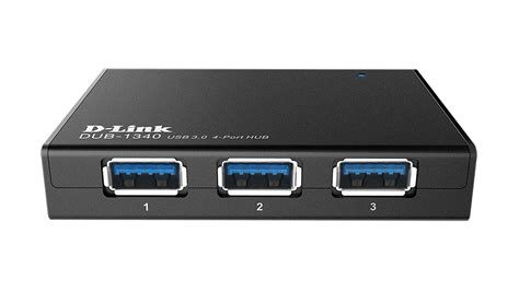 Usb Hub 3 0 4 Port Support 1 Tb dub 1340 4 port superspeed usb 3 0 hub d link