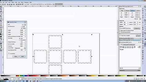 inkscape tutorial 3d box inkscape laser tutorials using the tabbed box extension