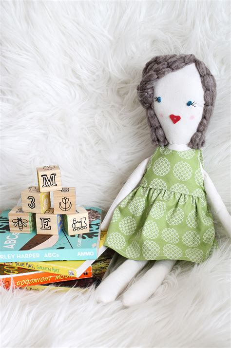 Cute Doll Pattern Love To Do This With Scraps From Baby | traditional rag doll diy a beautiful mess