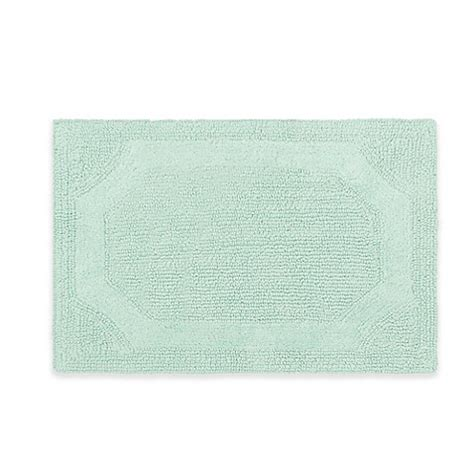 17 X 24 Bath Rug Buy 17 Inch X 24 Inch Reversible Bath Rug In Aqua From Bed Bath Beyond