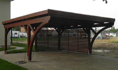 carport dachneigung flachdach carports holzgaragen als individueller bausatz
