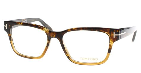 new tom ford eyeglasses mens tf 5288 brown 050 ft5288 v