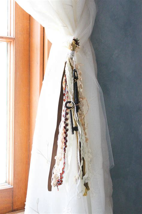 decorative tiebacks for curtains diy decorative curtain tie backs goodwill industries of
