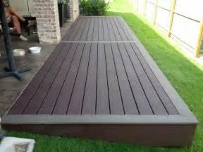 composite patio best 25 composite decking ideas on