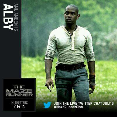 maze runner film nothing like book the maze runner movie official character cards revealed