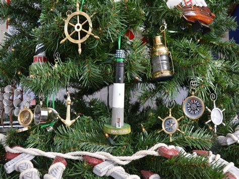 oak island christmas ornament buy oak island lighthouse tree ornament nautical theme
