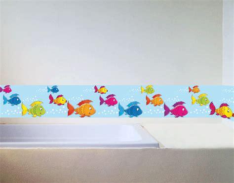 bordure kinderzimmer fische wandbild bord 252 re bunte fischlein kinder kinderzimmer
