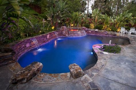 cool backyards with pools some very cool backyard pools when i gut the cove house
