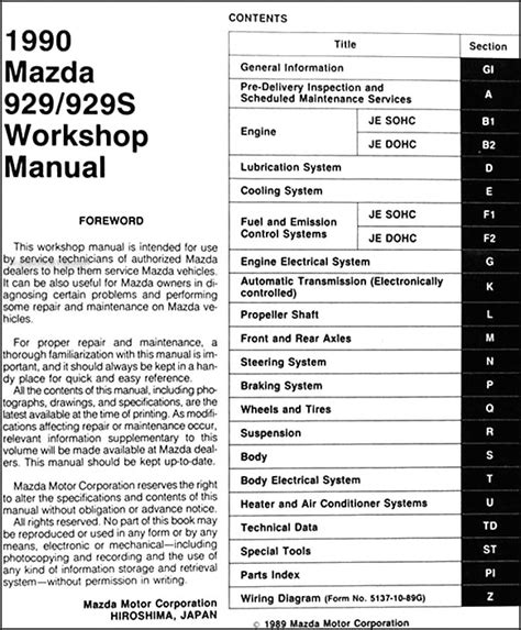 download car manuals pdf free 1993 mazda 929 electronic throttle control service manual pdf 1990 mazda 929 service manual mazda 929 cooling system specifications