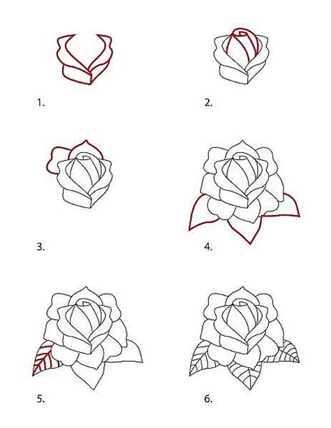 how to draw a tattoo rose classic sketch of roses flash