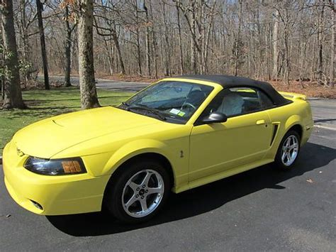 auto air conditioning service 2001 ford mustang lane departure warning sell used 2001 cobra convertible showroom condition only 3 872 miles in smithtown new