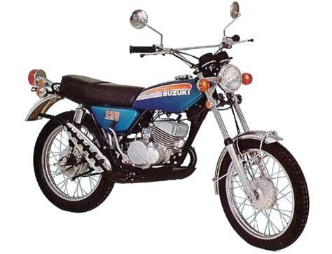 1974 Suzuki Ts 125 Suzuki Ts125 Model History