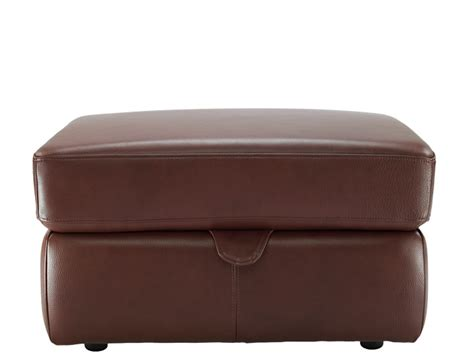Leather Storage Stool Leather Footstool Bed Images