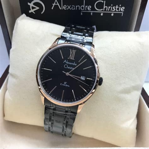Jam Ac Cowok jam tangan pria cowok alexandre christie ac 8504 black