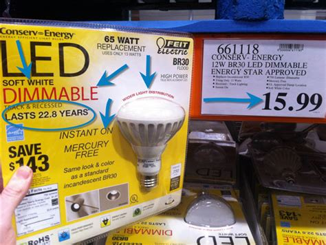 costco led light bulbs recessed led lighting for your basement save 700