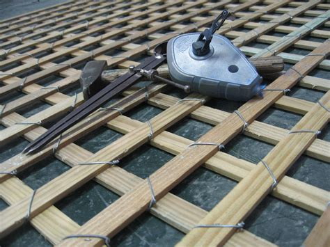 treillis en bois treillis bois large choix de treillis de jardin achat