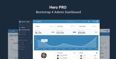 hero layout bootstrap html admin website templates from themeforest