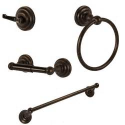 rubbed bronze towel bar set rubbed bronze bath accessory set bathroom hardware