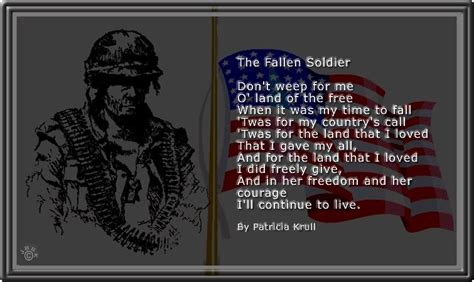 Fallen Soldier Poems And Quotes fallen soldier poems and quotes quotesgram
