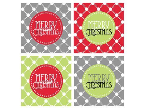 christmas templates printable gift tags cards crafts  hgtv