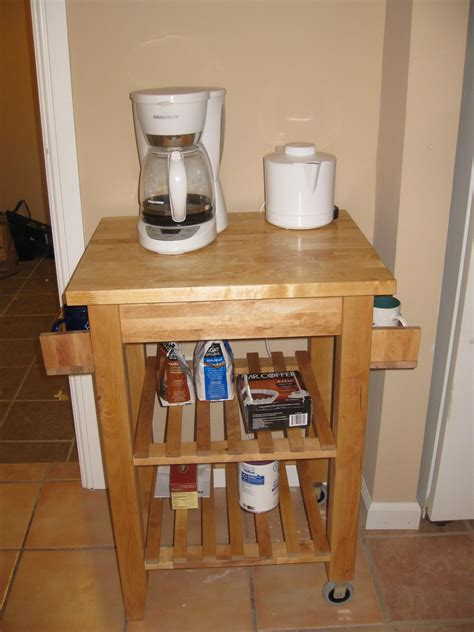 Coffee Cart ? IKEA hack   Not Really A Housewife