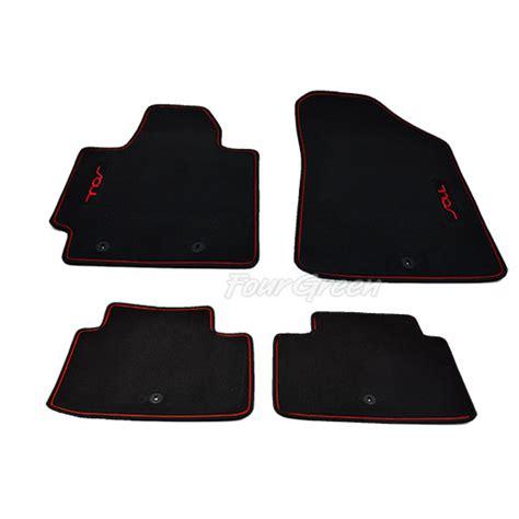 2014 Kia Soul Floor Mats Genuine Floor Mats For Kia Soul 2014 2016 Redzone Black