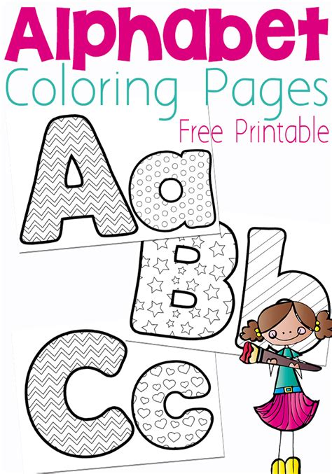 Alphabet Coloring Pages Free Printable Free Printable Alphabet Coloring Pages Money Saving Mom 174 by Alphabet Coloring Pages Free Printable