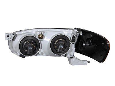 2001 Toyota Corolla Headlight Bulb Replacement Toyota Corolla 2001 2002 Black Headlights And Corner
