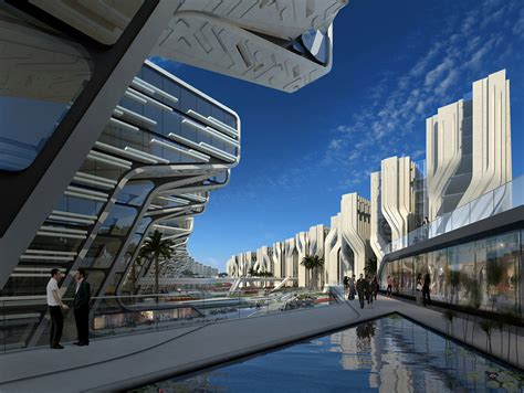 zaha hadid modern architecture stone towers zaha hadid architects