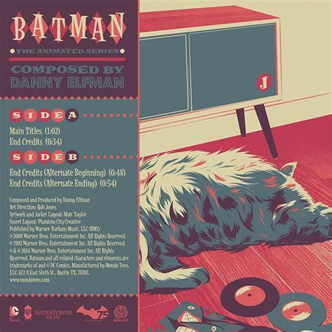 danny elfman batman danny elfman batman the animated series colored vinyl