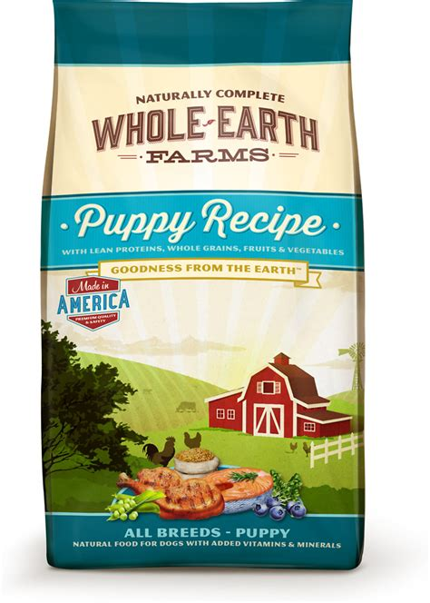 whole earth food reviews whole earth farms food puppy recipe whitedogbone