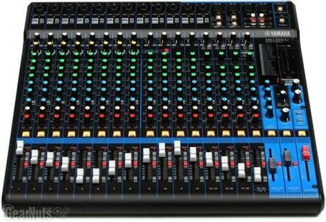 Daftar Mixer Sound Yamaha yamaha mg20xu reverb