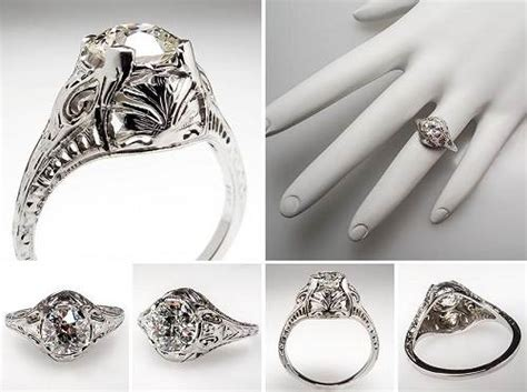 vintage engagement rings for sale
