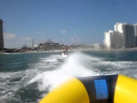 banana boat rides at myrtle beach sc banana boat ride myrtle beach sc youtube