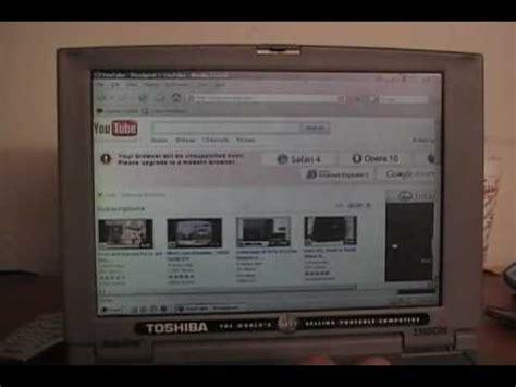 my 1999 toshiba satellite laptop part 2
