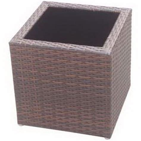 All Weather Planters by Planters Patio Planters All Weather Wicker Planters