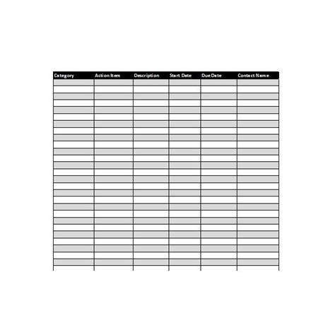 tracker template collection of excel project management tracking templates