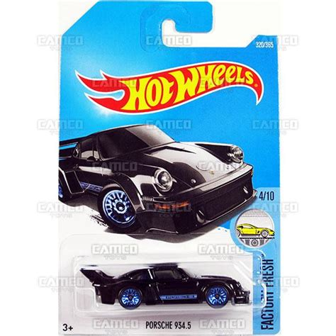 Wheels Porsche 934 5 Black Factory Fresh porsche 934 5 320 black 2017 wheels basic p assortment camco toys