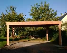 carport bois sur mesure carport erwan bonnemaison charpentier tours 37