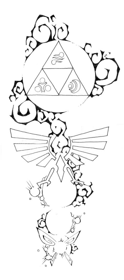 zelda triforce tattoo design 25 best ideas about on legend of
