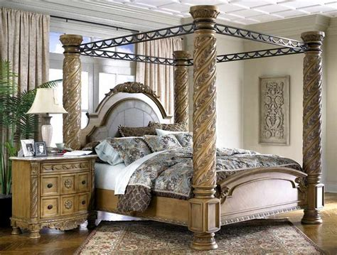 margaret king poster canopy bed 5 piece bedroom set antique white w 77 best my bedroom images on pinterest