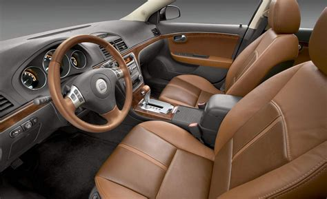 Saturn Aura Interior by Car And Driver