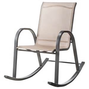 patio rocking chairs room essentials nicollet sling patio rocking ch target