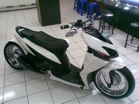 Modifikasi Terbaru by Koleksi Modifikasi Motor Honda Vario 150 Esp Terbaru