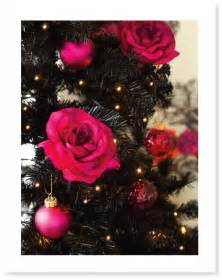 unseen shots pink and black christmas table homes on film