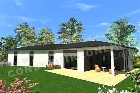 Plan Maison 3 Chambres 1 Bureau