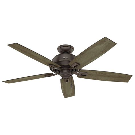 hunter 52 onyx bengal bronze ceiling fan hunter donegan 52 in indoor outdoor onyx bengal bronze