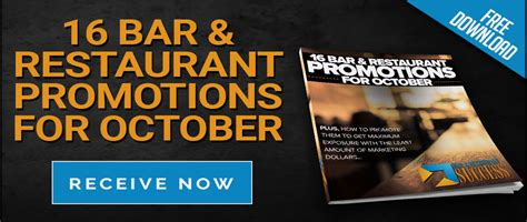 Bar Giveaways - november restaurant promotions