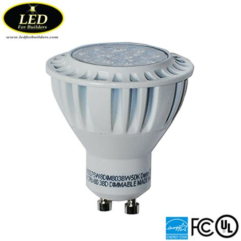 Lu Bohlam Led Sook 5w 5 Watt led for buildersgreenlux high quality gu10 7 5 watt 5000k bulb 550 lumens led for builders